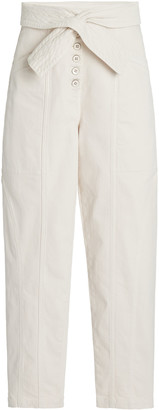 Ulla Johnson Otto High-Rise Tapered Jeans