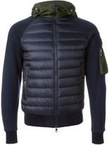 Moncler padded jersey jacket - men - Cotton/Polyamide/Goose Down - XS