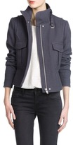 MANGO Outlet Textured Cotton Jacket