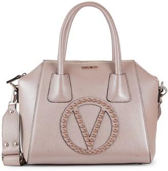 Valentino By Mario Valentino Minimi Studded Leather Shoulder Bag