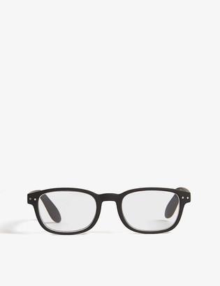 Izipizi #B Reading square-frame glasses +2.00