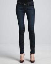 Paige Skyline Carson Dark-Wash Skinny Jeans