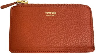 Tom Ford Orange Leather Small bags, wallets & cases