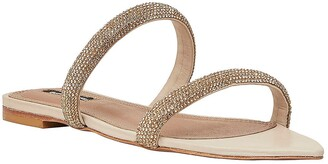 BCBGMAXAZRIA April Embellished Slide Sandal