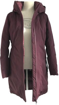 Lululemon Burgundy Synthetic Coats
