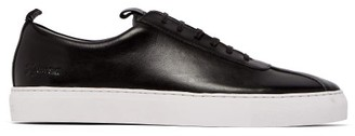 Grenson Sneaker 1 Low-top Leather Trainers - Mens - Black White