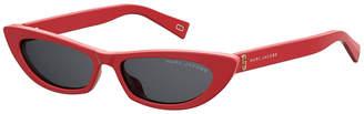 Marc Jacobs The Slim Cat-Eye Acetate Sunglasses