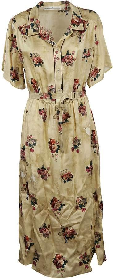 Golden Goose Floral Printed Dress