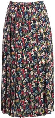 Comme des Garcons Junya Watanabe Junya Watanabe Skirt A Line Gerogette Flower Pattern