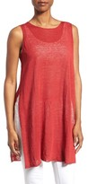 Eileen Fisher Women's Organic Linen Blend Knit Tunic