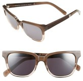 Shwood 'Prescott' 52mm Acetate & Wood Polarized Sunglasses