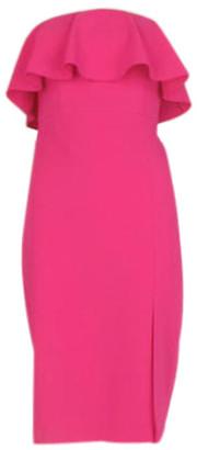 Aidan Mattox Popover Cocktail Dress