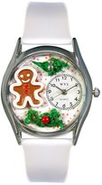 Whimsical Watches Women's S1220006 Christmas Gingerbread Leather Watch