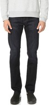 AG Jeans The Matchbox Stretch Selvedge Slim Straight Jeans
