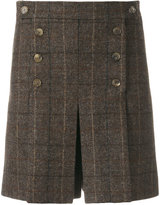 Mulberry checked pleat shorts