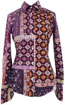 Etro Purple Cotton Top for Women