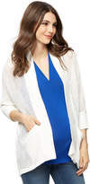 A Pea in the Pod Drop Shoulder Cocoon Maternity Cardigan