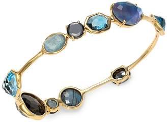 Ippolita Rock Candy 18K Yellow Gold Multi-Stone Bangle Bracelet