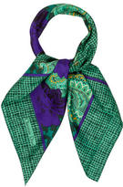 Christian Dior Silk Floral Scarf