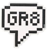 Anya Hindmarch 'GR8' sticker - women - Goat Skin - One Size