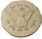 Bed Bath & Beyond Run Free Now Dog Remembrance Stepping Stone Plaque