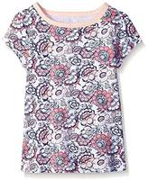 Scout + Ro Big Girls' Short-Sleeve Floral-Print Jersey T-Shirt