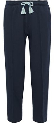 Rag & Bone Molly Striped French Cotton-terry Track Pants