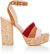 Gianvito Rossi Women's Ankle-Strap Platform Sandals-LIGHT PINK
