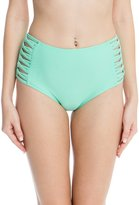 RELLECIGA Women's High Waisted Bikini Bottom
