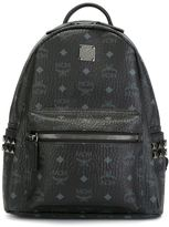MCM small 'Stark' backpack - women - Leather/Canvas - One Size