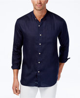 Tommy Bahama Men's Remi Banded-Collar Linen Shirt