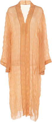 Johanna Ortiz The Era Of Truth Crinkled Chiffon Kimono
