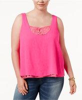 Rachel Roy Trendy Plus Size Layered-Look Tank Top