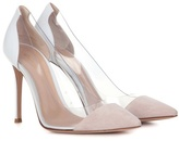 Gianvito Rossi Exclusive to mytheresa.com – Plexi leather pumps