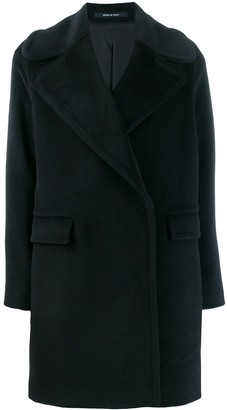 Tagliatore Wool Single Breasted Coat