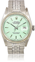Vintage Watch Women's Vintage Oyster Perpetual Datejust Watch-LIGHT GREEN