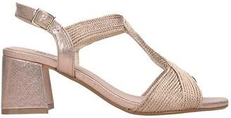 Bibi Lou Sandals In Bronze Tech/synthetic