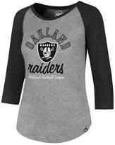 '47 Women's Oakland Raiders Club Raglan T-Shirt
