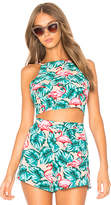 Show Me Your Mumu Havana Reversible Crop