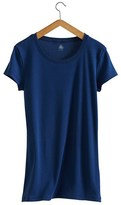 Petit Bateau Womens round neck tee in new cotton