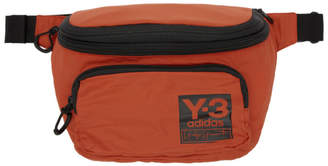 Y-3 Y 3 Orange Packable Backpack Pouch