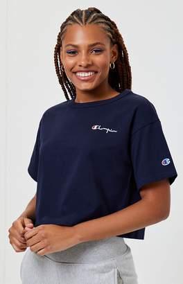 Champion Logo Cropped T-Shirt