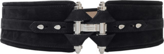 Givenchy Black Obsedia Waist Belt