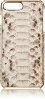 Barneys New York Men's Python iPhone® 7 Plus Case-NUDE