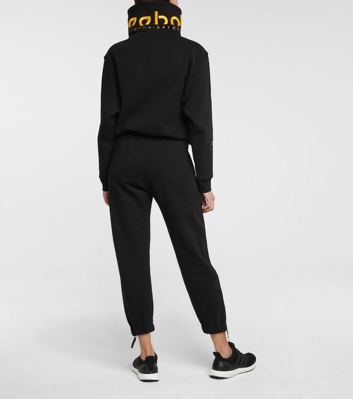 Thumbnail for your product : Reebok x Victoria Beckham Logo cotton-jersey sweatshirt