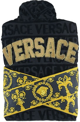 Versace Barocco & Robe Sequined Bathrobe