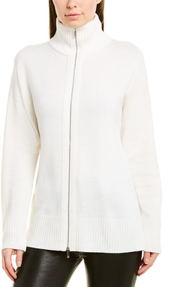 Lafayette 148 New York Wool & Cashmere-Blend Sweater Jacket