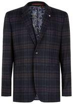 Ted Baker Pacino Check Wool Jacket