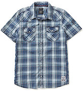 Buffalo David Bitton Simila Short-Sleeve Plaid Shirt