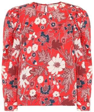 Ulla Johnson Terese floral cotton-blend blouse